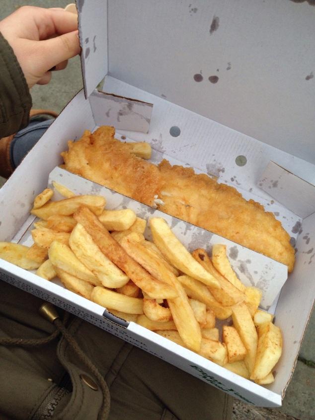 Marshall s tynemouth gluten free fish and chips for Gluten free fish and chips